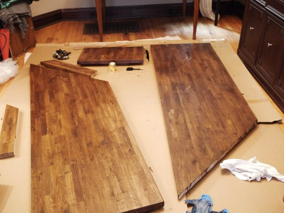 Countertop stain