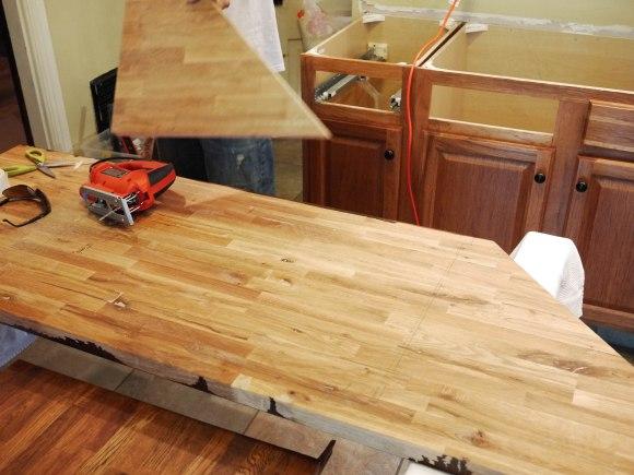 Ikea Butcherblock Countertops Part 3 Kelley Alex